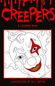 Creepers - A Coloring Book by Alli Kappen